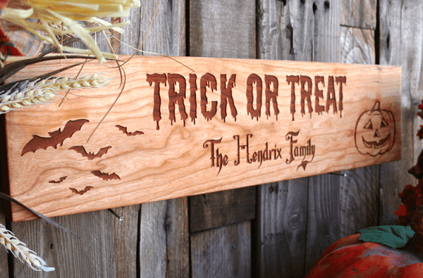 Personalized Happy Halloween House Signs - Qualtry
