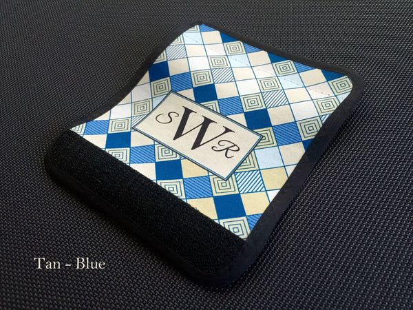 Personalized Luggage / Bag Markers - Checkerboard style - Qualtry