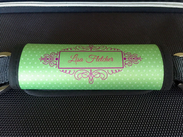 Personalized Luggage / Bag Markers - Decorative Swirl Style