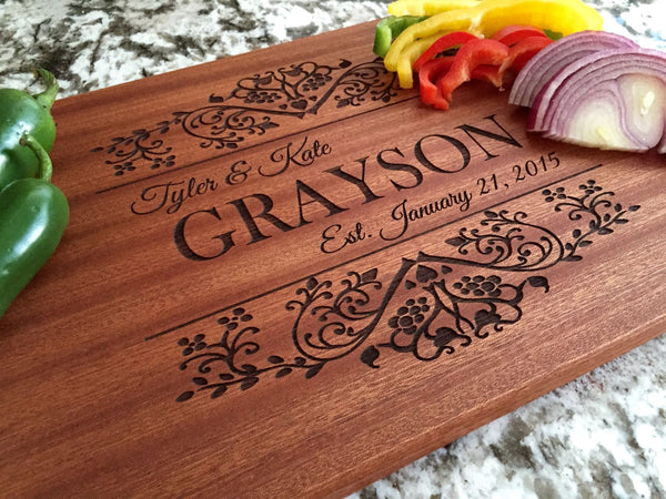 Better Homes and Gardens 10x15 Mahogany Boards - Qualtry Personalized Gifts