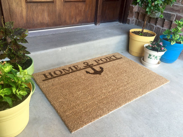 Door Mats - Home Port - Qualtry Personalized Gifts