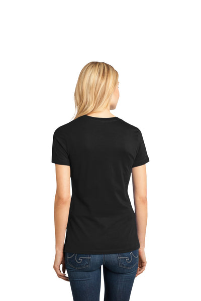 Custom Printed T-Shirt - District Made Ladies Perfect Weight Tee - DM104L