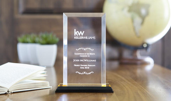 Corporate Custom Awards and Trophies - Qualtry