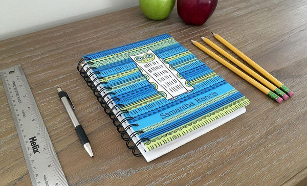 Customized Large Spiral Notebooks