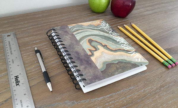 Personalized Large Spiral Notebooks