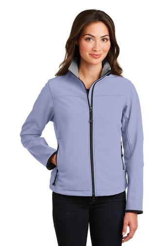 Corporate Apparel - Embroidered Ladies Port Authority Glacier Soft Shell Jacket - L790