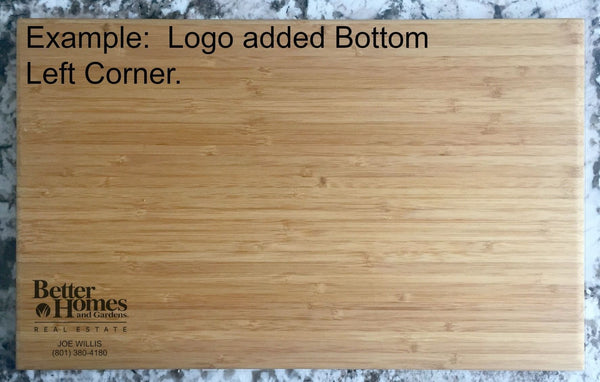Corporate Gift Item 11x17 Bamboo Cutting Board