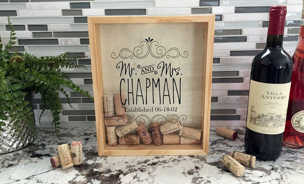 Personalized Wine Cork Keepers - Medium