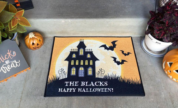 Customized Medium Halloween Door Mats