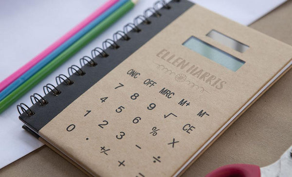 Personalized Calculator Notebook