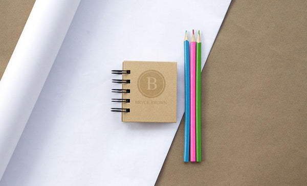 Corporate 5 Dollar Discount Page - Customized Sticky Note Spiral Notebook - Sticky Notes Included!
