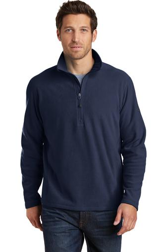 Corporate Apparel - Embroidered Eddie Bauer 1/2-Zip Microfleece Jacket - EB226