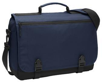 Corporate Messenger Bag - Embroidered Port Authority Messenger Briefcase - BG304