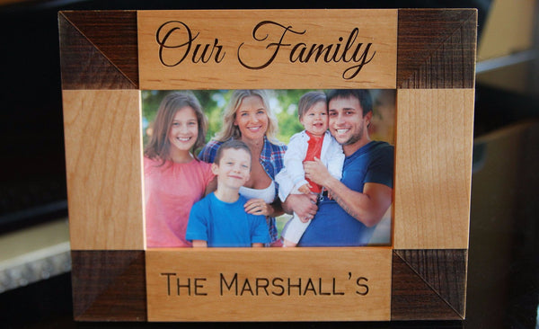 Personalized Family Photo Frames - Qualtry Personalized Gifts