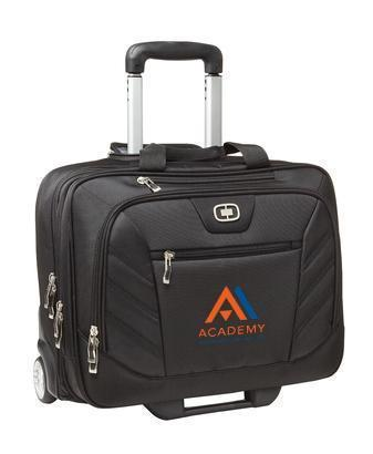 Corporate Rolling Bag - Embroidered OGIO Lucin Wheeled Briefcase - 417018