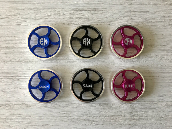 Premium Round Personalized Fidget Spinners
