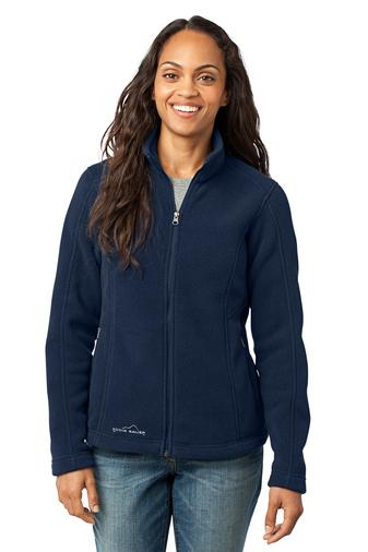 Corporate Apparel - Embroidered Ladies Eddie Bauer Fleece Jacket - EB201