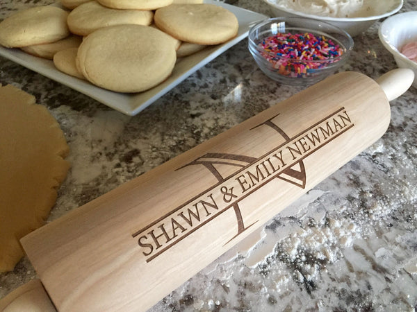 Personalized Rolling Pins - 5 Designs!
