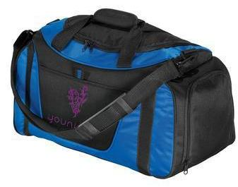 Corporate Duffel Bag - Embroidered Port Authority Small Two-Tone Duffel - BG1040