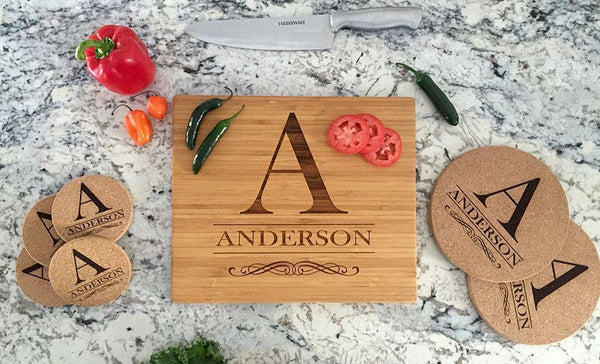 Corporate Holiday Collection - Personalized Serving  Bundle