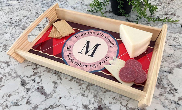 Personalized Custom Serving Tray