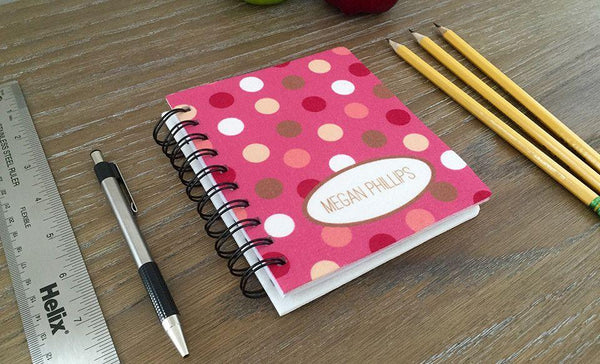 Personalized Medium Spiral Notebooks