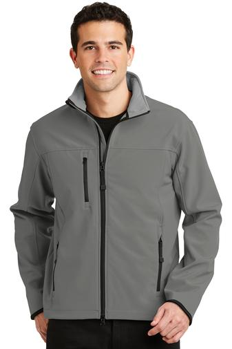 Corporate Apparel - Embroidered Port Authority Glacier Soft Shell Jacket -  J790