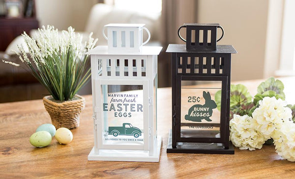 Personalized Spring Lanterns