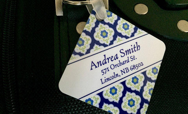 Personalized Key Chains - Square Designs