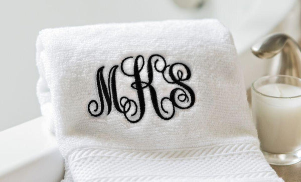 Personalized Luxury Bath Towels