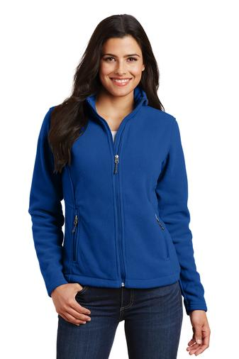 Corporate Apparel - Embroidered Ladies Port Authority Fleece Jacket - L217