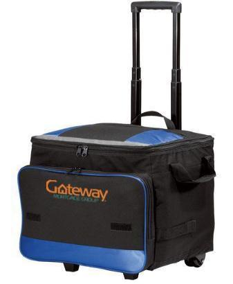 Corporate Rolling Bag - Embroidered Port Authority Rolling Cooler - BG119