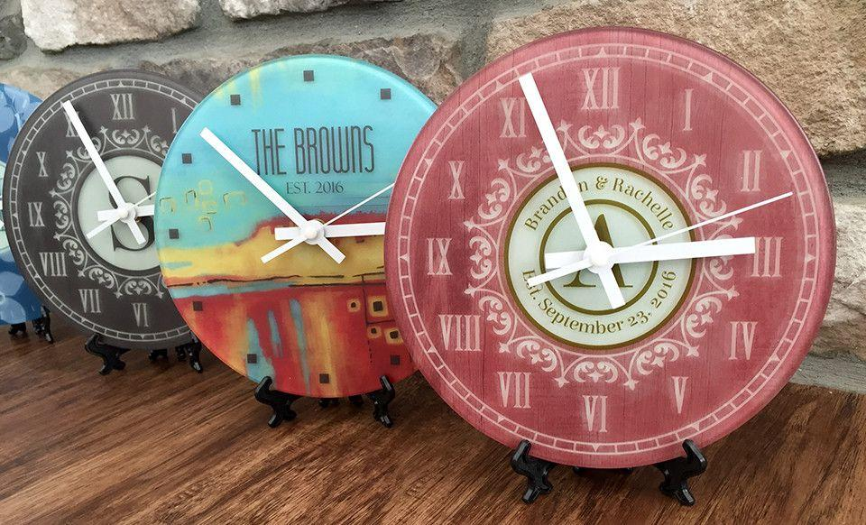 Personalized Large Wall Clock Qualtry
