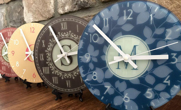 Personalized Large Wall Clock