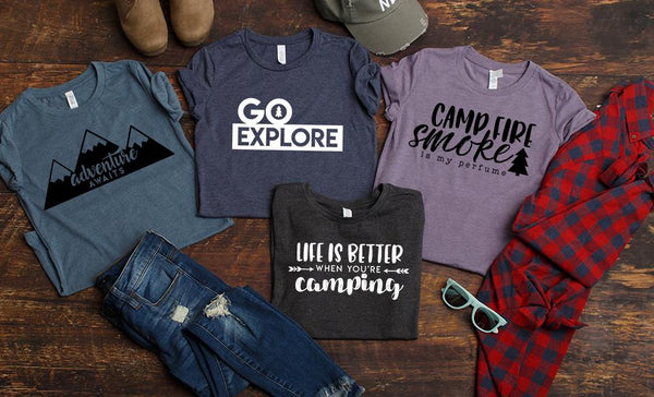 Let's Go Camping T-Shirts
