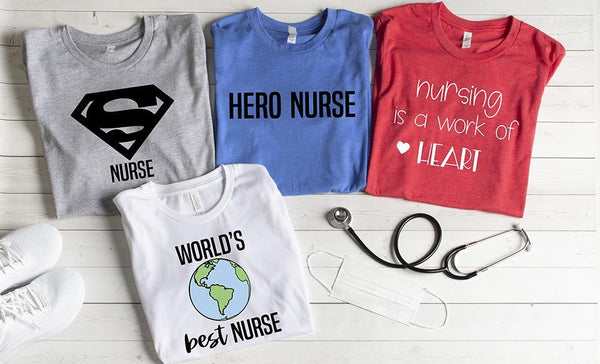Customized Super Nurse T-Shirts