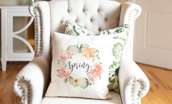 Spring Throw Pillow Covers (Noncustomized)