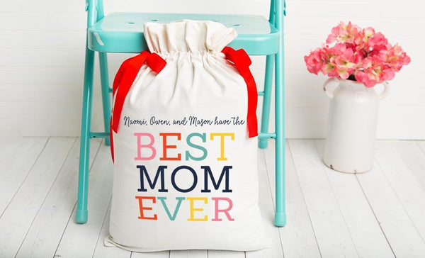 Customized Gift Bags for Mom
