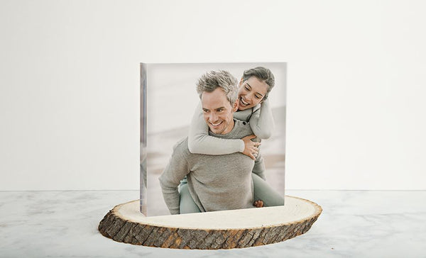 Customized Acrylic Photography Display Blocks
