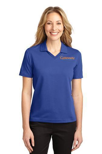 Custom Embroidered Ladies Port Authority Polos - Rapid Dry L455