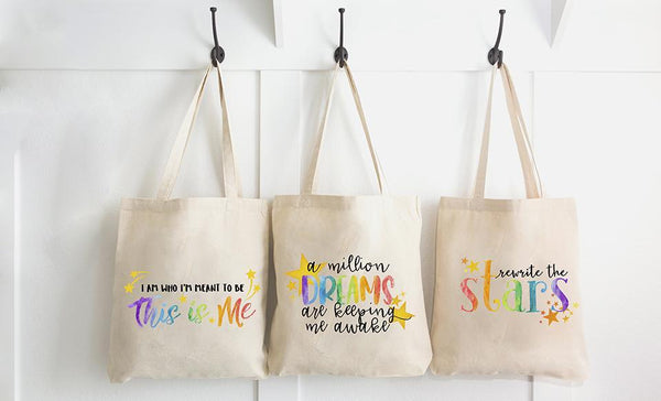 (New!) The Dreamer Collection Tote Bags