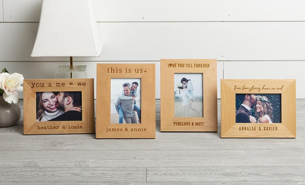 Customized Love Story Photo Frames