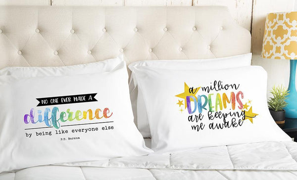 (New!) The Dreamer Collection Pillowcases