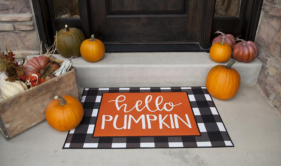 Custom Layered Halloween Doormat Sets Qualtry