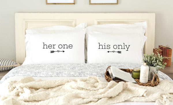 Customized Romantic Pillowcases for Couples