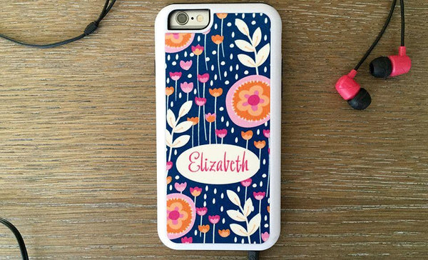 Personalized iPhone 6 Cases - Flower Pattern