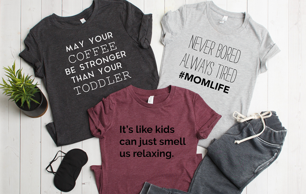 really comfortable arrives the best #MomLife T-Shirt Collection