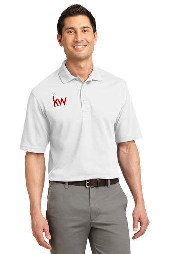 Custom Embroidered Port Authority Polos - Rapid Dry K455