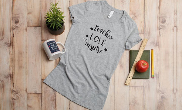 #Teacher Life T-Shirt Collection (Unisex sizing)