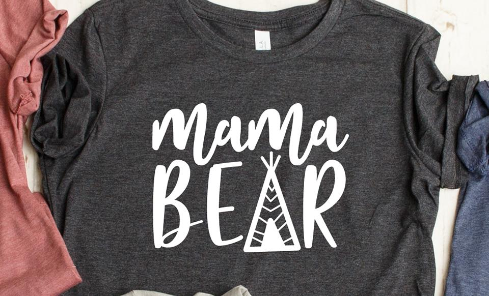 a5489ad0a2909 Mama Bear T-Shirt Collection - Qualtry